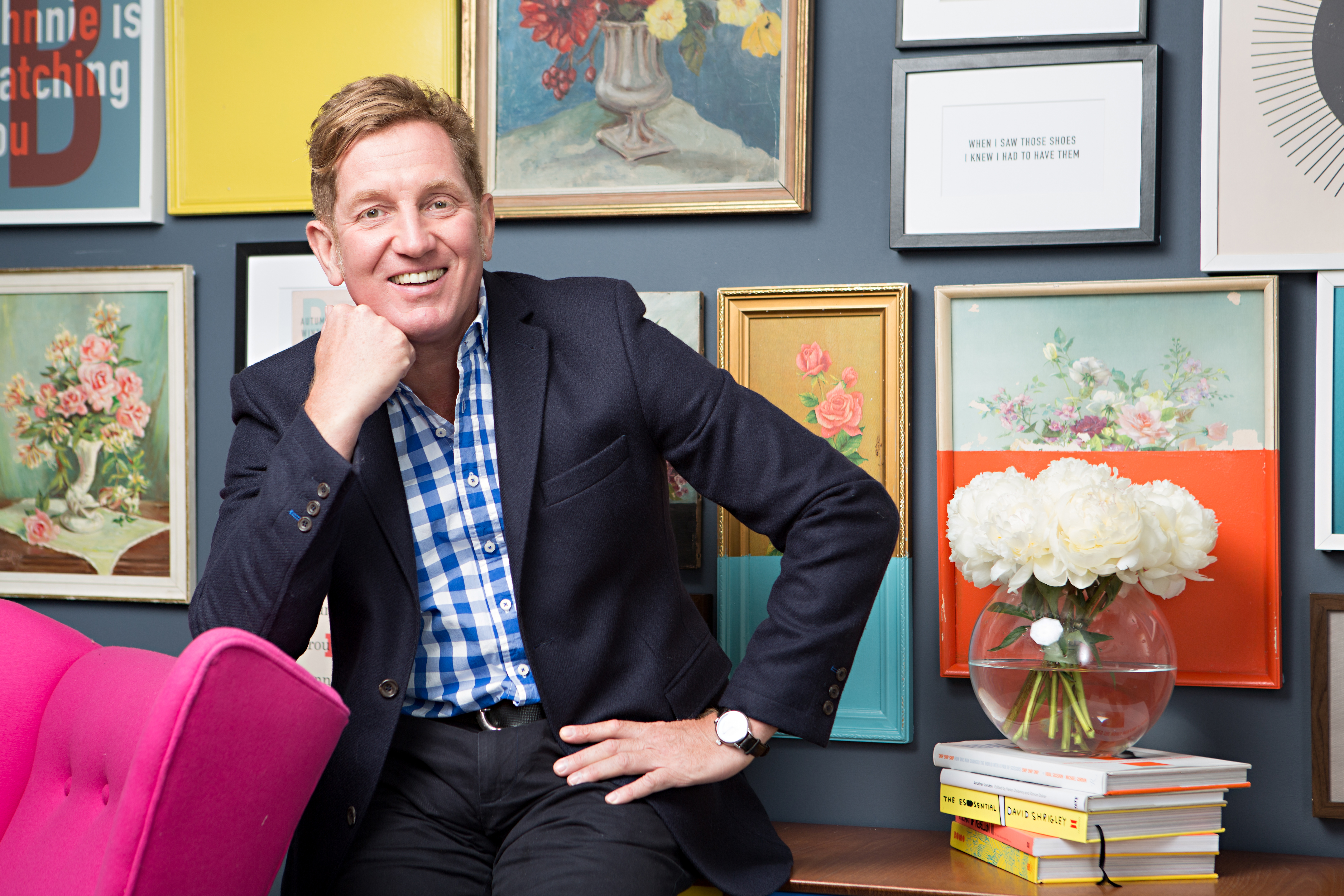 Johnnie Boden founded his eponymous business in 1991, and remains creative director, overseeing growth - and profitability.