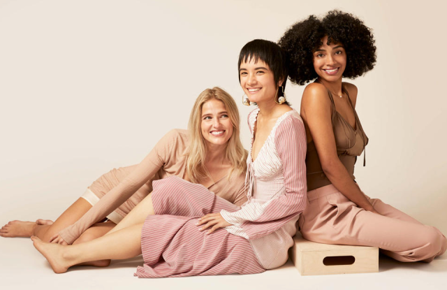 """Material Box is the """"only service that curates pre-owned fashions in a box with the option to send them back any time in the future to be passed on to someone else."""""""