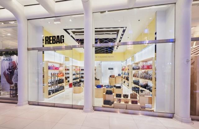 A Rebag store in New York City.
