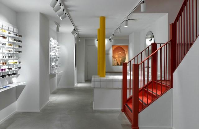 Inside Ace & Tate's Soho store