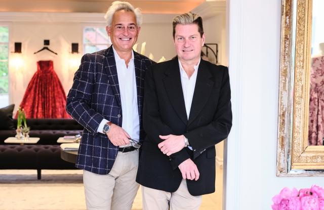 Mark Badgley and James Mischka inside their new L.A. boutique