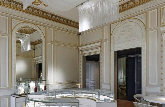 The Salon des Fiançés on the second floor of Boucheron's Place Vendôme flagship