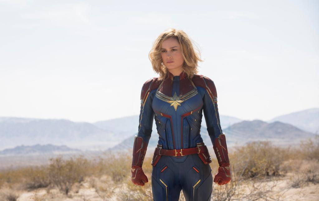 Marvel Studios' CAPTAIN MARVELCarol Danvers/Captain Marvel (Brie Larson)Photo: Chuck Zlotnick©Marvel Studios 2019