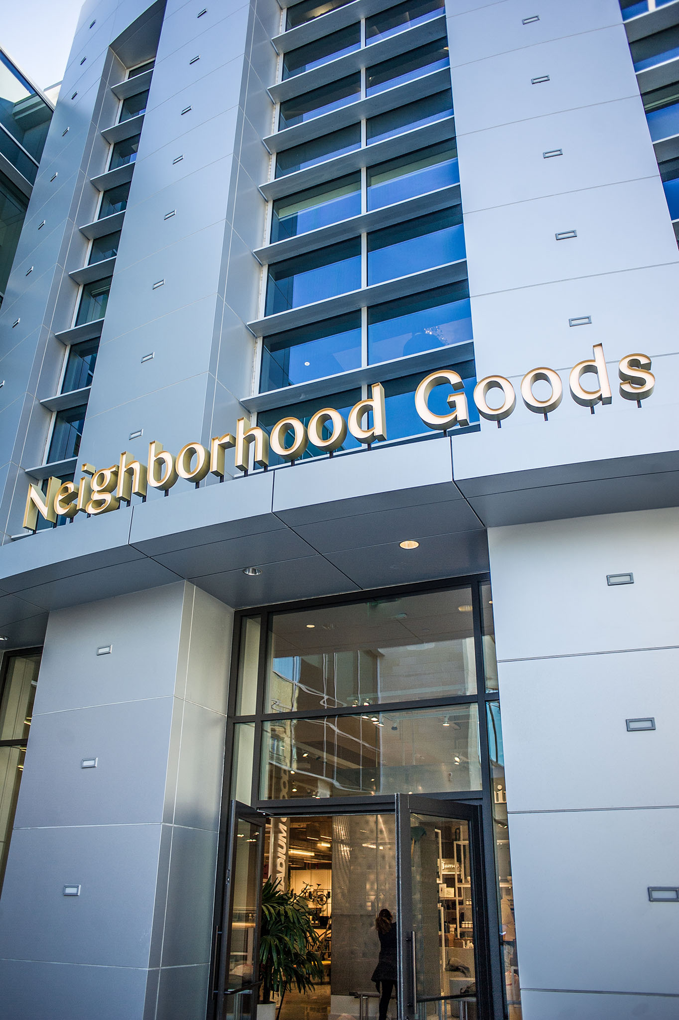 The Neighborhood Goods department store.