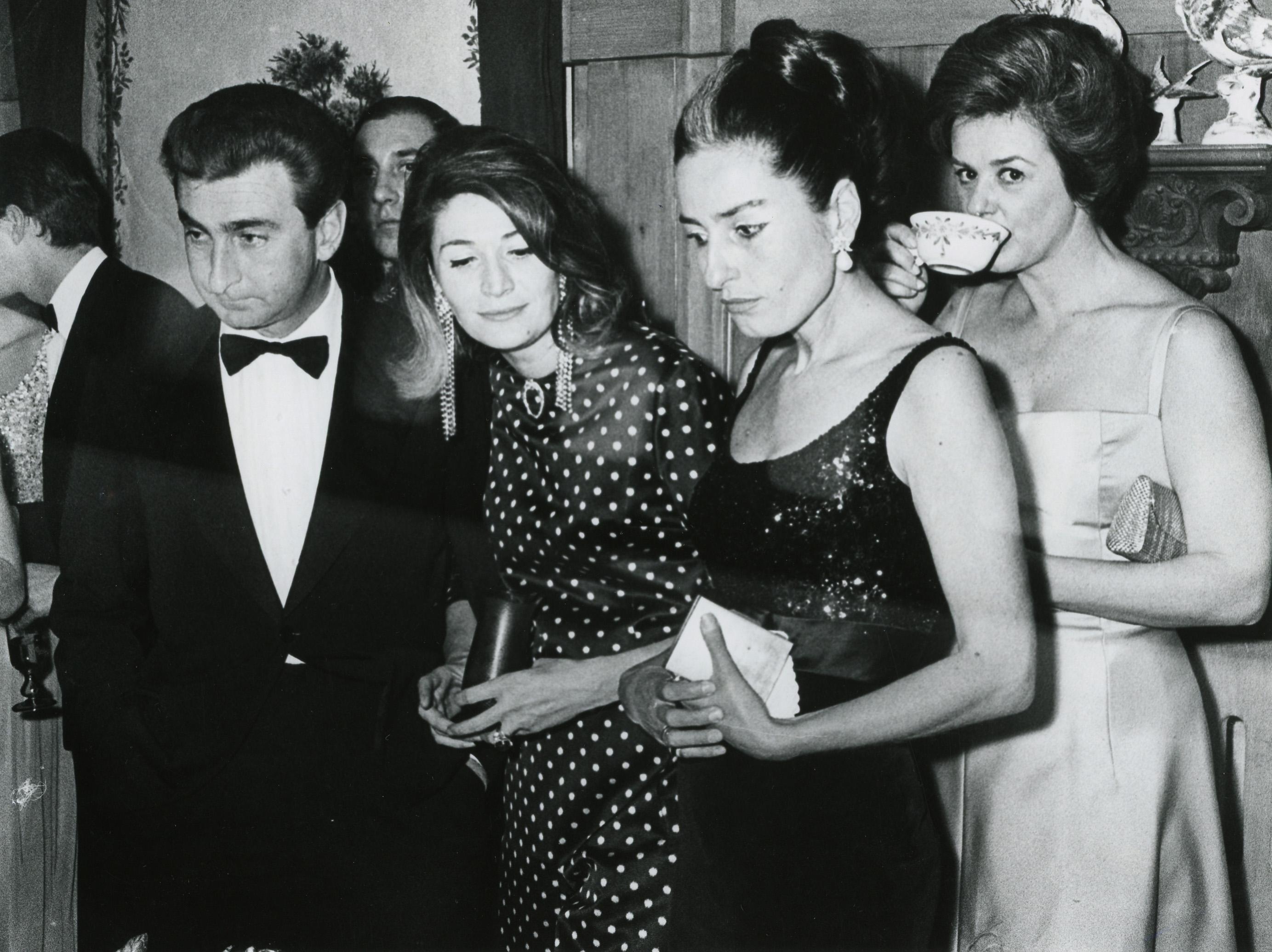 Umberto Marzotto, Marta Marzotto and Doris MayerMarta Marzotto
