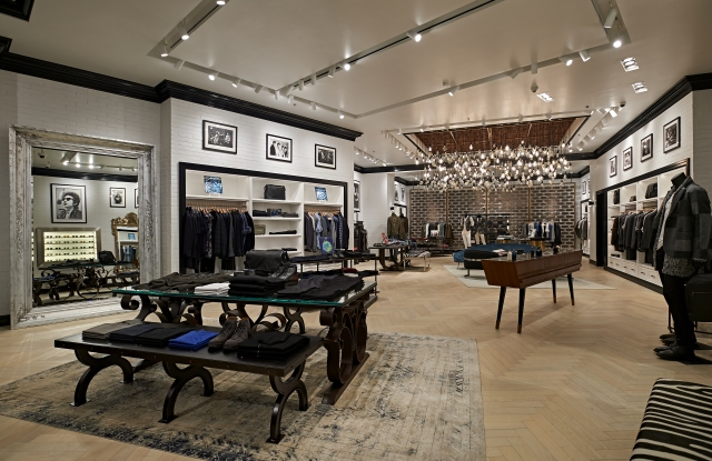 The John Varvatos store in the Dubai Mall.