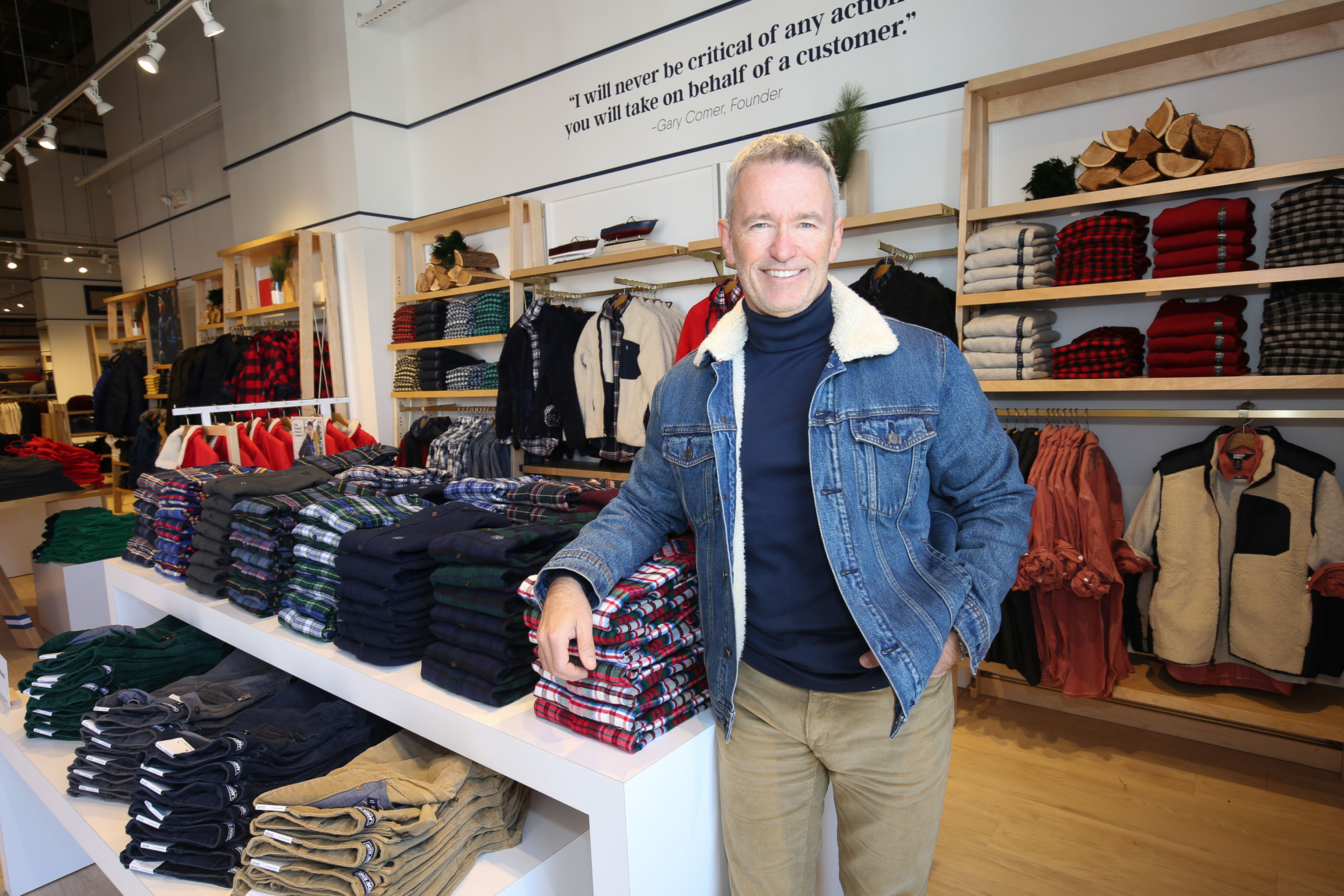 Jerome Griffith, president and ceo of Lands' End.
