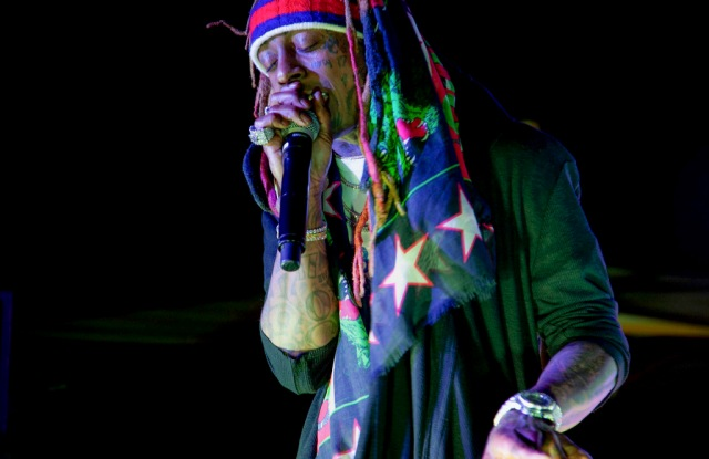 Lil WayneArtNews and YoungArts celebrate Inside Out Project, The Surf Lodge, Art Basel, Miami, USA - 07 Dec 2018