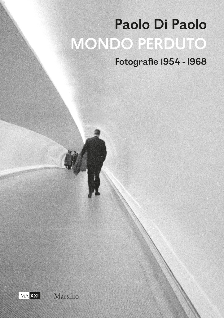 """The cover of the book """"Paolo Di Paolo. Mondo Perduto. Photographs 1954-1968"""" featuring the photogrpaher's """"Pedestrian Subway"""" image taken in New York in 1963."""