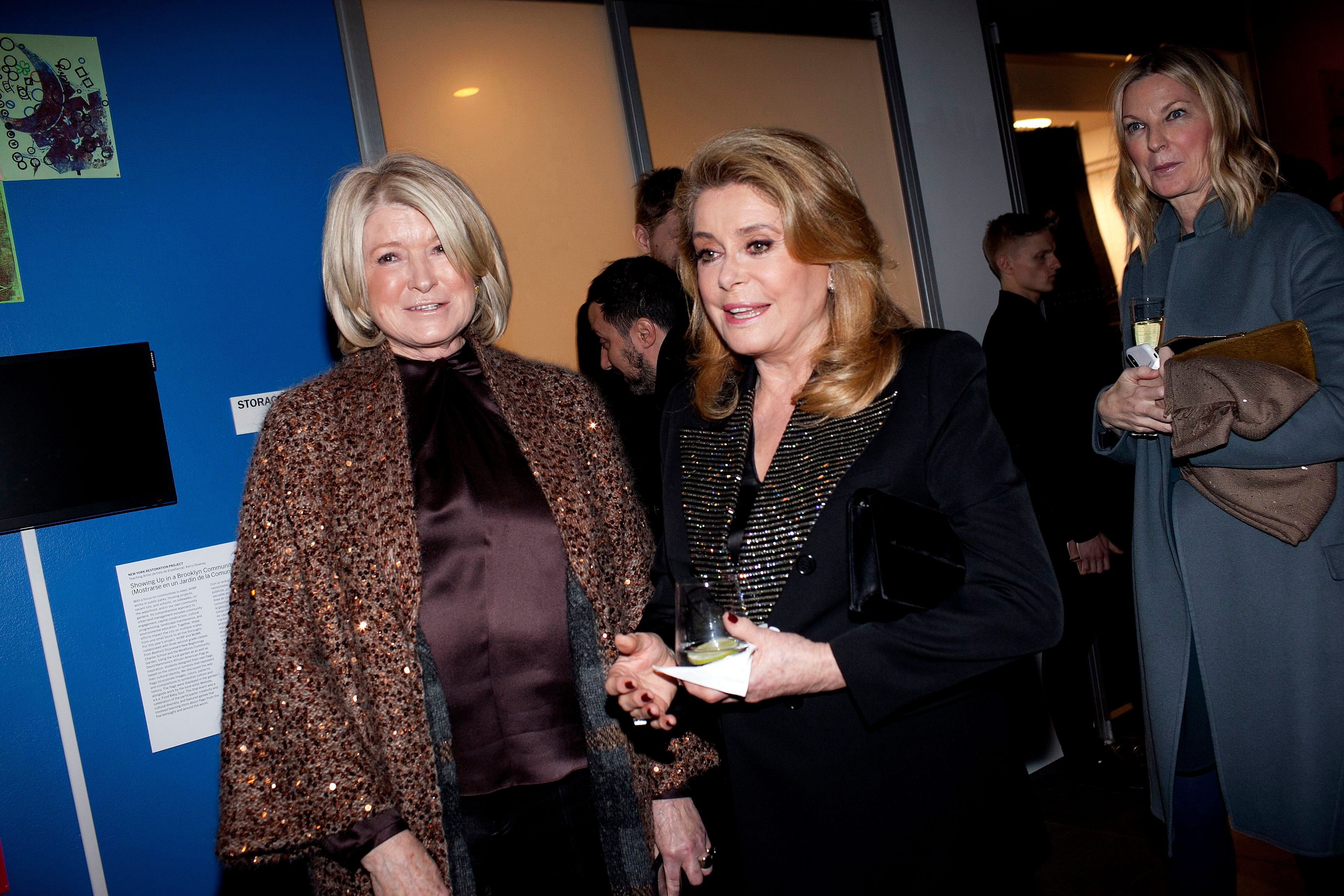 Martha Stewart, Catherine Deneuve'Belle De Jour' 50th anniversary film screening, New York, USA - 19 Dec 2018
