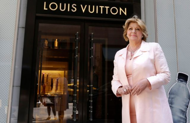 Faith Hope Conoslo Faith Consolo poses for photos in front of the Louis Vuitton store in New York. Consolo has helped to revitalize Madison Avenue and Fifth Avenue as hubs of luxe shopping as well as reshape other retail corridors of the country from Los Angeles' Rodeo Drive to Boston's Newbury StreetFaith Hope Consolo Q and A, New York, USA