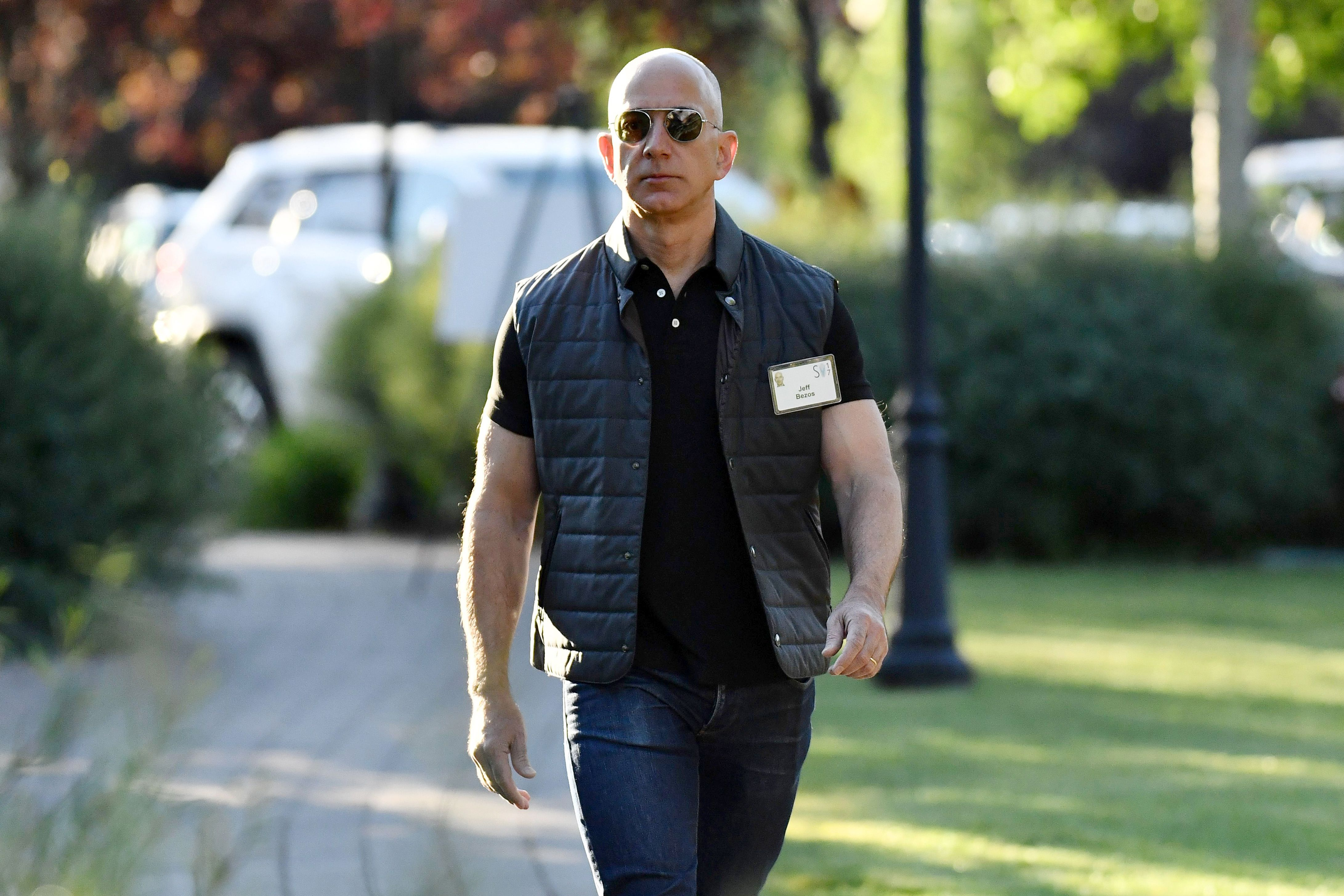 Jeff BezosAllen & Company Sun Valley Conference, Idaho, USA - 13 Jul 2017