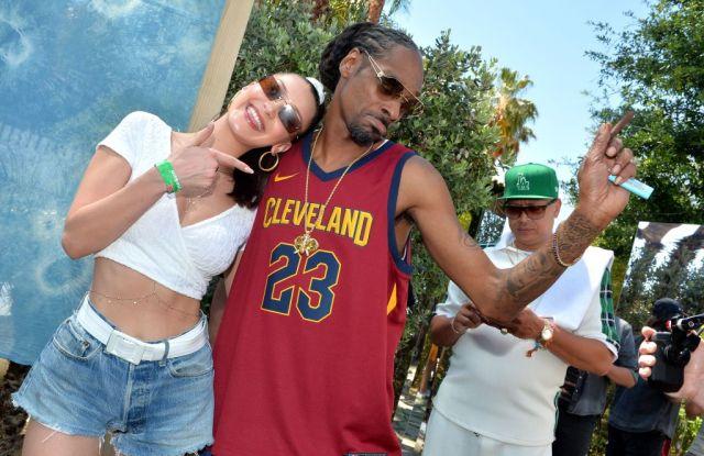 Bella Hadid and Snoop DoggLevis Coachella brunch, Coachella Valley Music and Arts Festival, Palm Springs, USA - 14 Apr 2018
