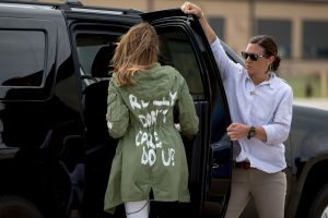 First lady Melania Trump walks to her vehicle as she arrives at Andrews Air Force Base, Md., after visiting the Upbring New Hope Children Center run by the Lutheran Social Services of the South in McAllen, TexasMelania Trump, Andrews Air Force Base, USA - 21 Jun 2018