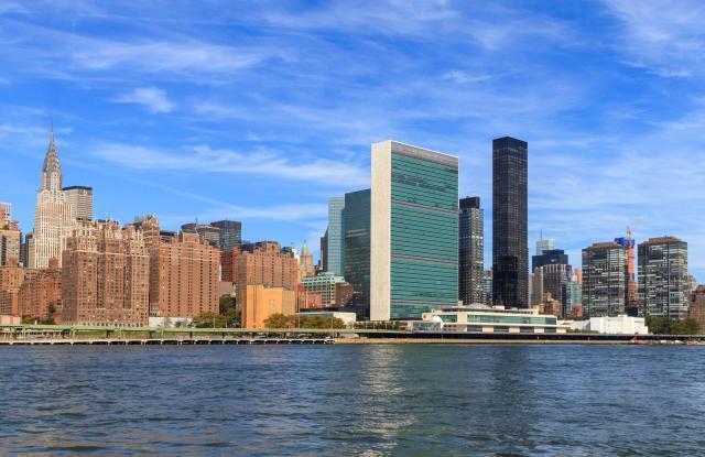 United Nations Headquarters, East River, Manhattan, New York City, New York, USAVARIOUS