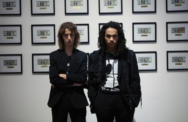 Noah Dillon and Luka Sabbat