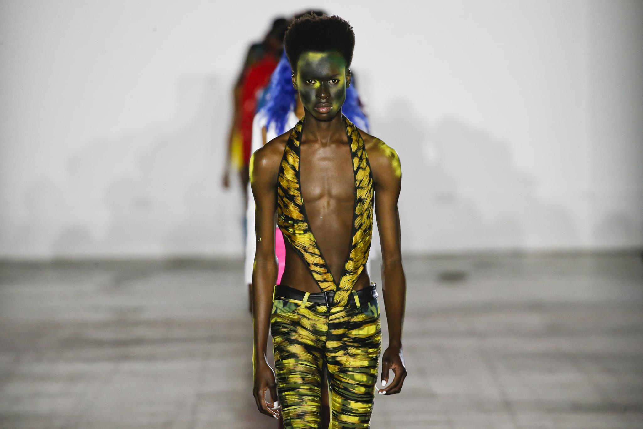 Mowalola at Fashion East Men's Fall 2019