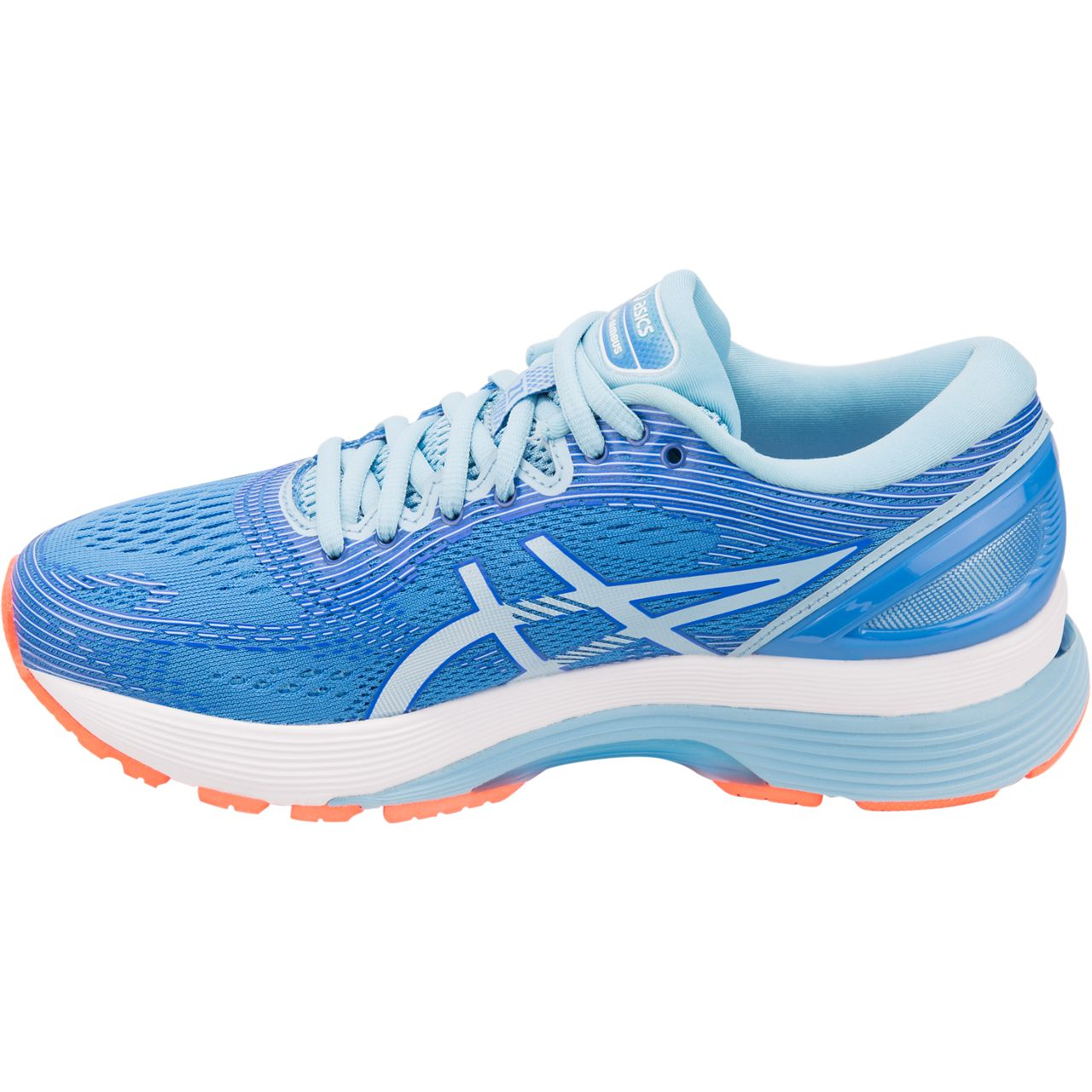 The Gel-Nimbus 21 is one of several signature performance footwear models from Asics.