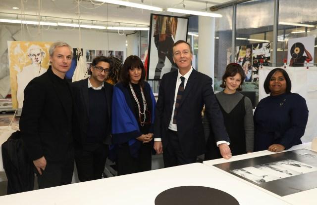 Inside the Royal College of Art fashion studios