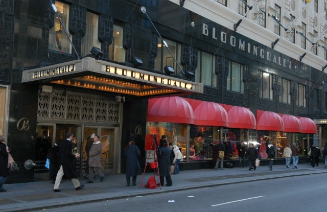 The Bloomingdale's flagship.