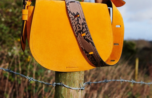 A bag from Katie Hillier's new collection for J&M Davidson.