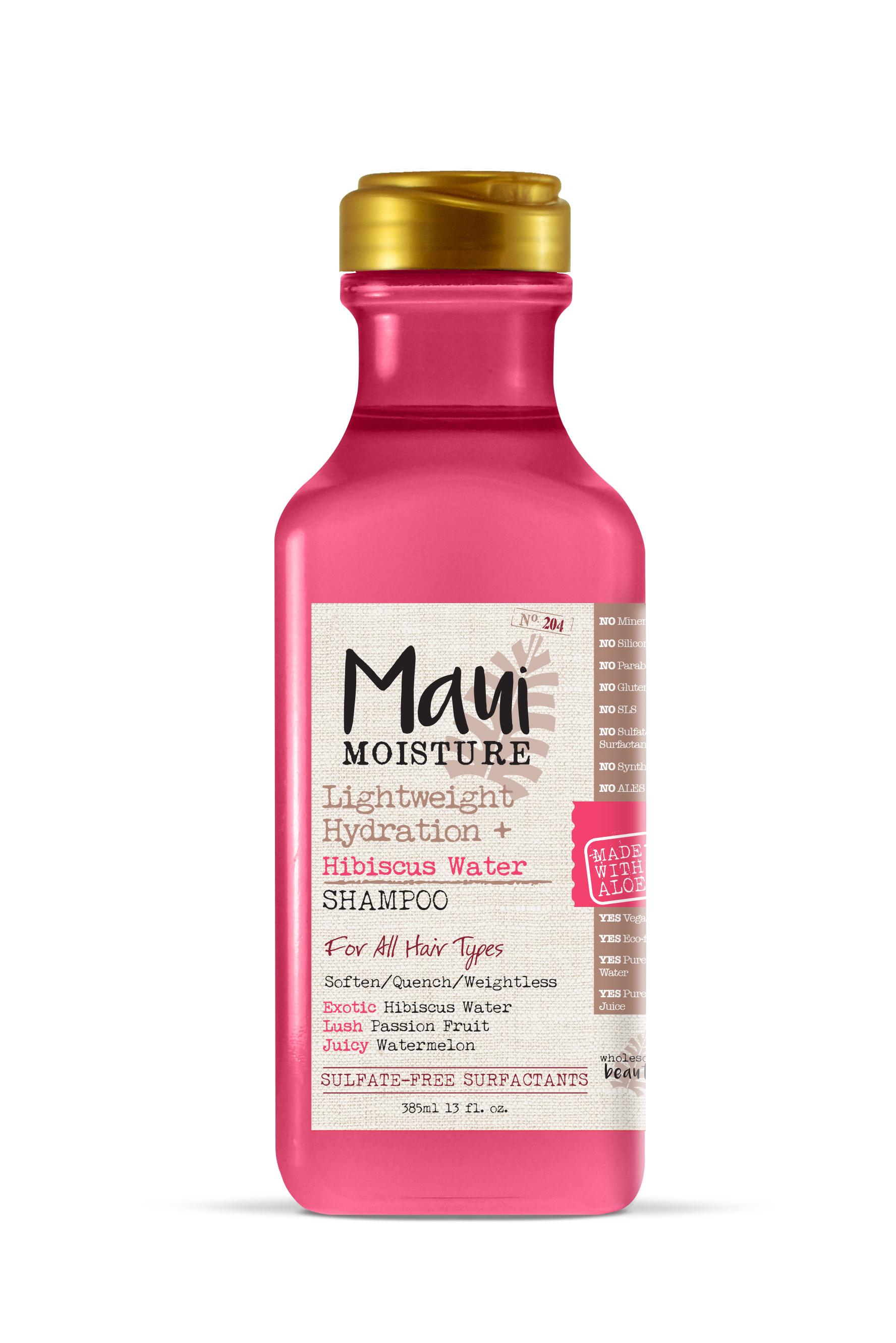 Maui Moisture Lightweight Hydration Plus Hibiscus Water Shampoo