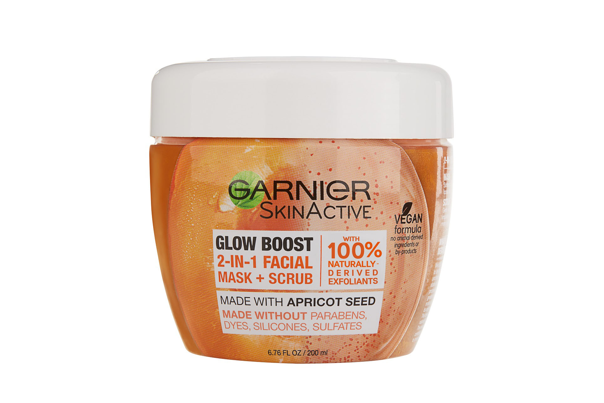 Garnier SkinActive Glow-Boost 2-in-1 Facial Mask and Scrub