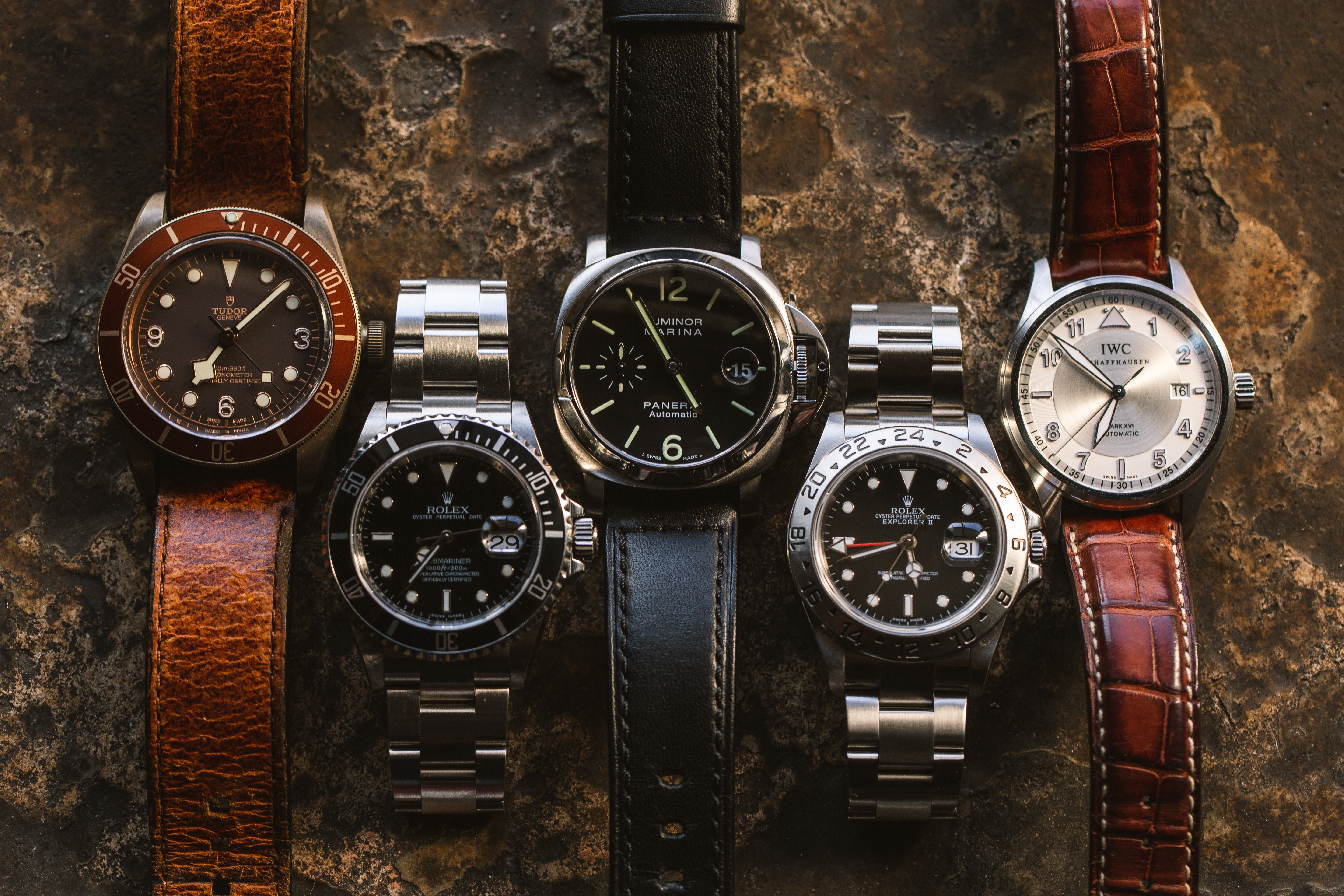 Watches from Crown and Caliber's Watchtoberfest