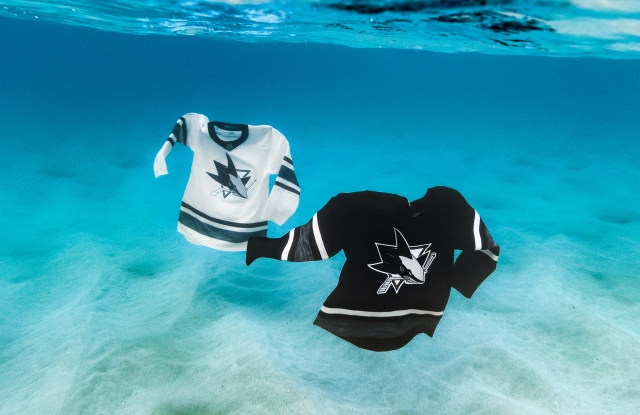 The Adidas x Parlay jerseys for the NHL All-Star Game.