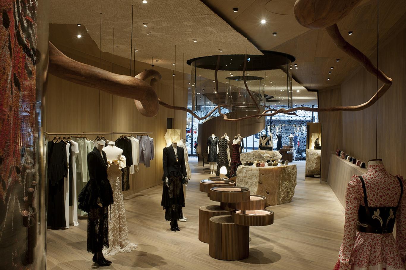 The Alexander McQueen Bond Street Store