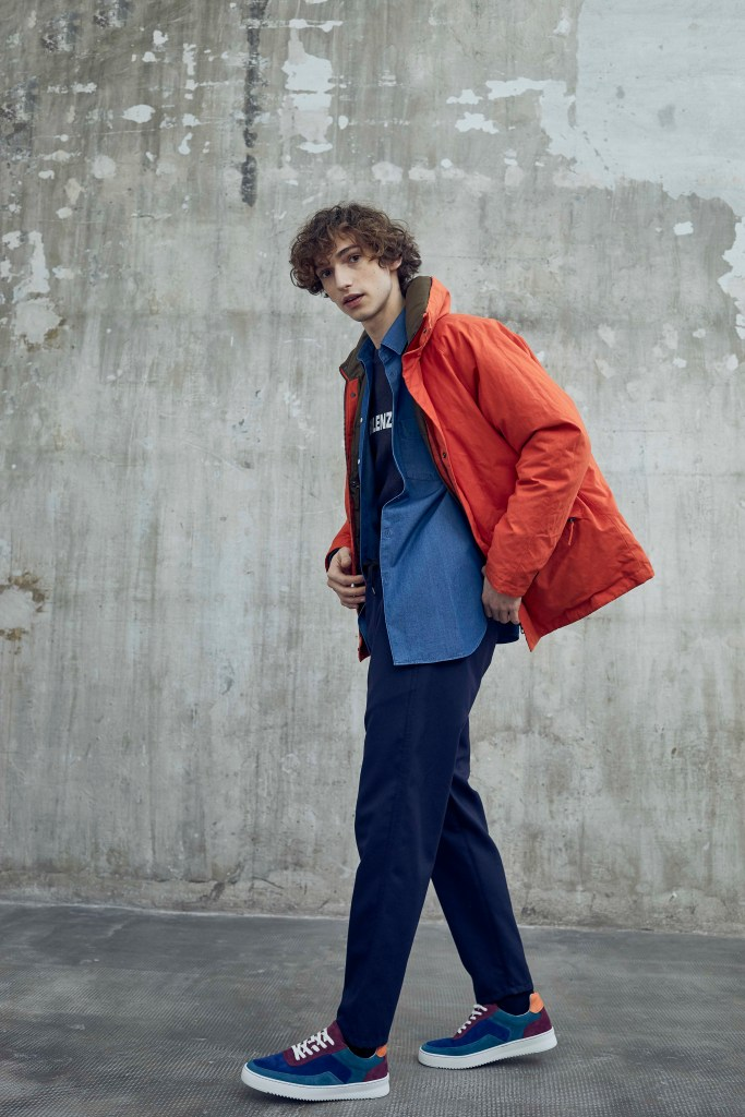 A look from the Aspesi Men's Fall 2019 collection.