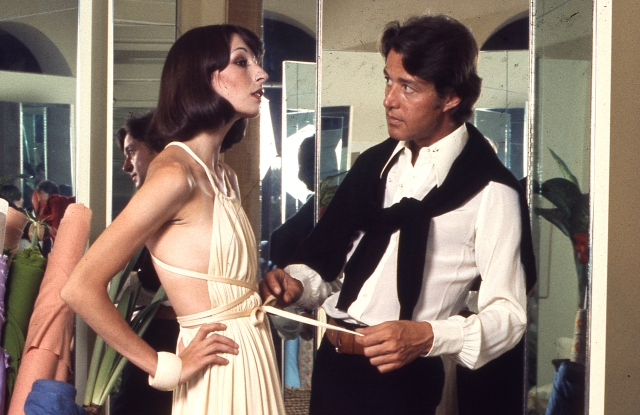 "A scene from ""Halston."""