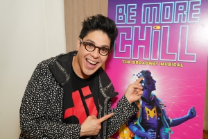 """The stars of new Broadway show """"Be More Chill"""""""