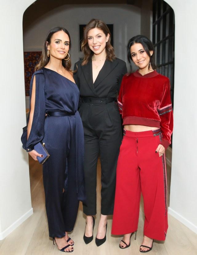 Jordana Brewster, Katie Bofshever, Emmanuelle Chriqui