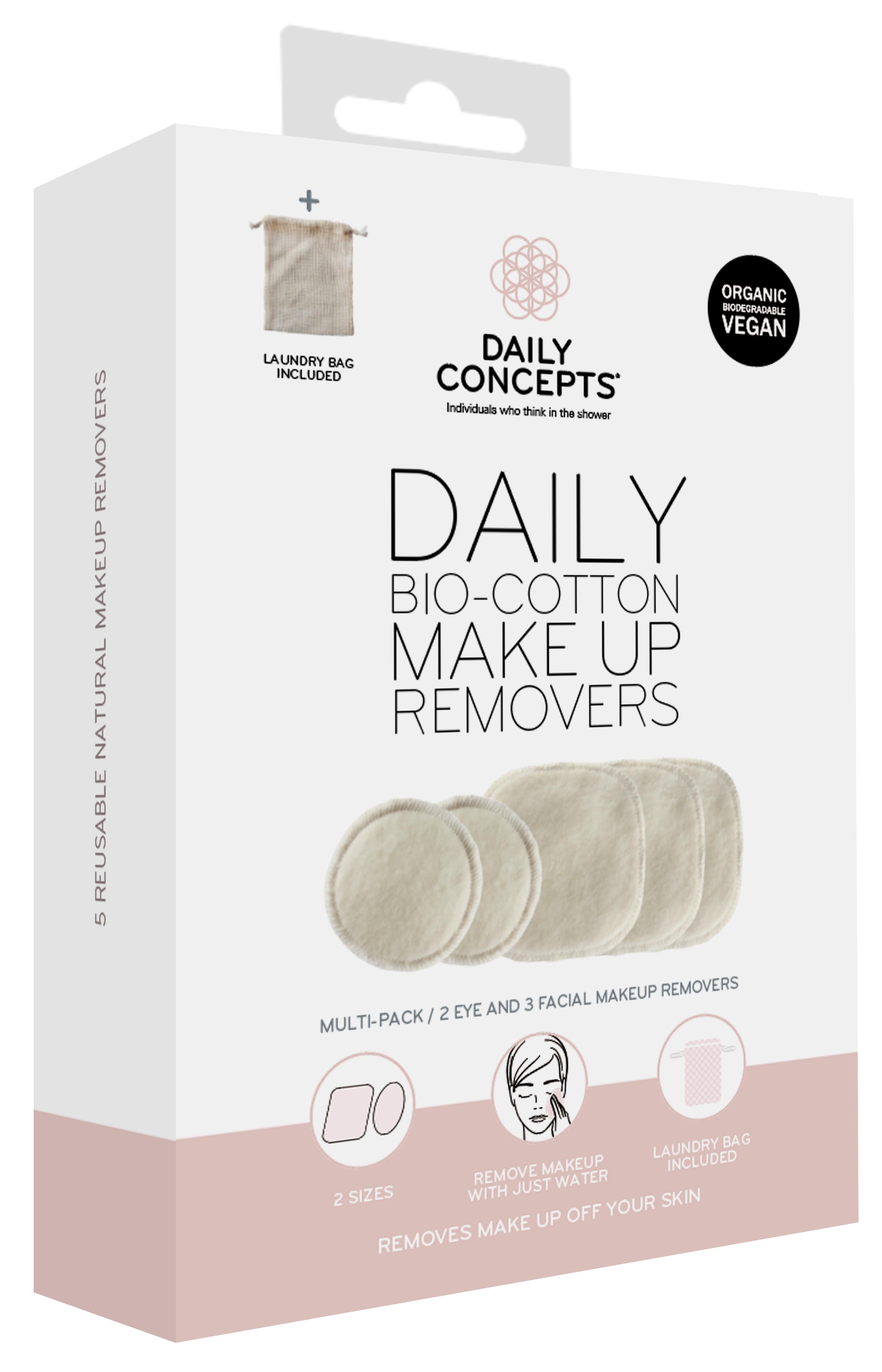BioCotton Makeup Removers.
