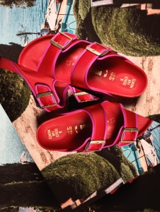 A style from the Il Pellicano capsule for the Birkenstock 1774 collection.