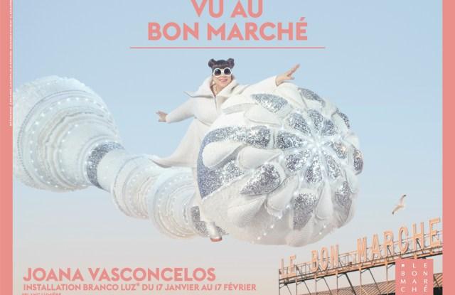 Joana Vasconcelos Installation at Vu Au Bon Marché