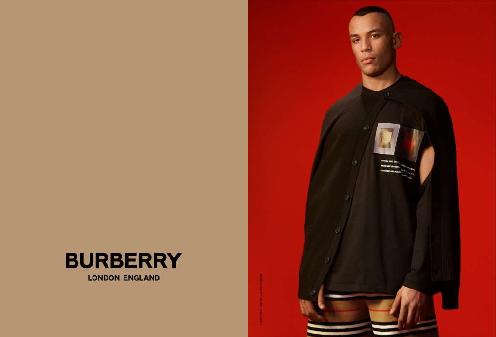 Riccardo Tisci's debut Burberry campaign