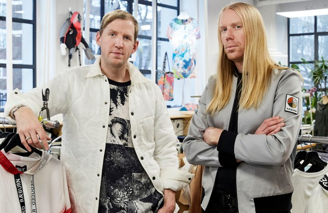 Brothers Christopher and Graeme Raeburn will be working together at the London-based brand that turns 10 in 2019.