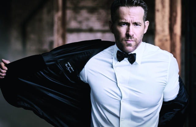 Ryan Reynolds for Armani Code
