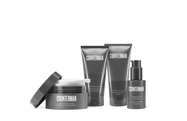 Counterman, a men's grooming line by Beautycounter.