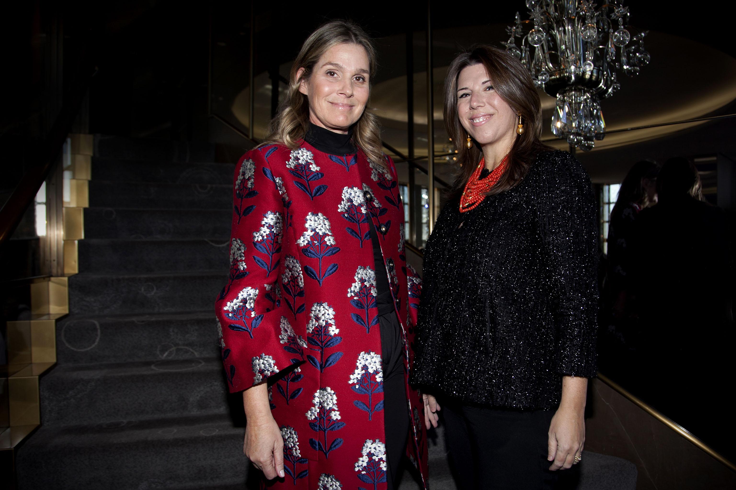 Aerin Lauder and Stellene Volandes