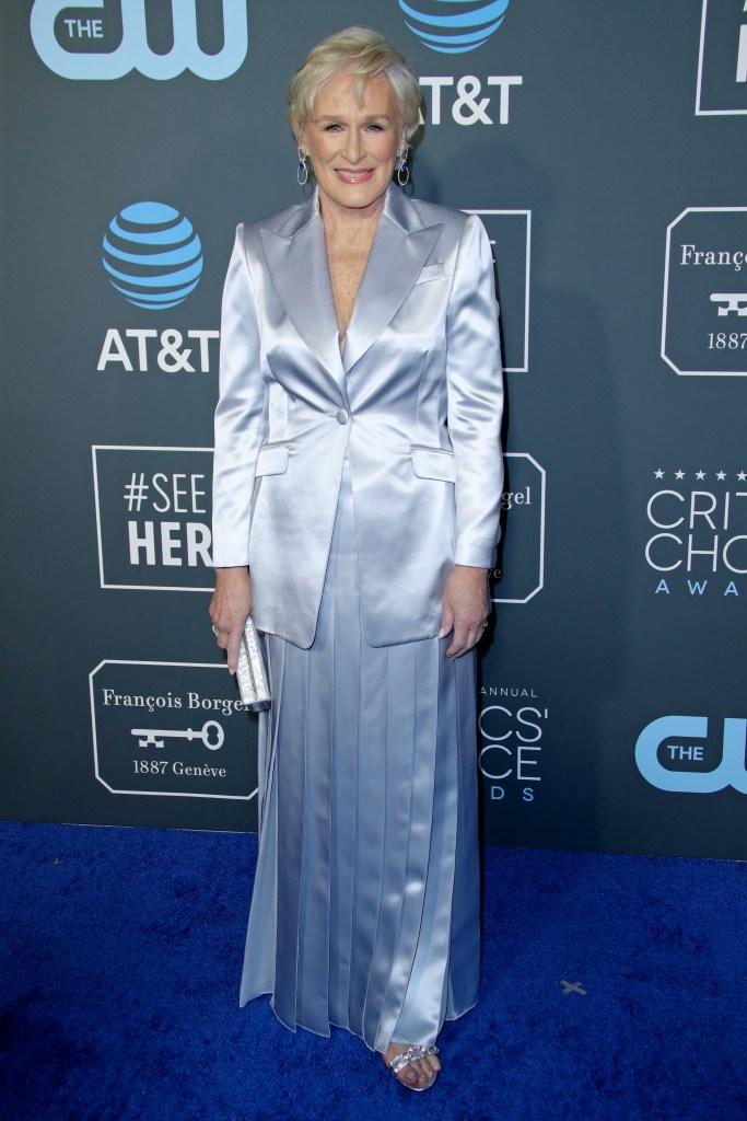 Glenn Close24th Annual Critics' Choice Awards, Arrivals, Barker Hanger, Los Angeles, USA - 13 Jan 2019