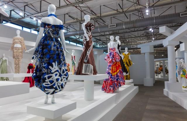 The Jeremy Scot retrospective at the Dallas Contemporary.