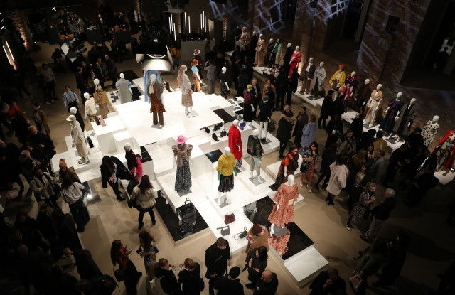BERLIN, GERMANY - JANUARY 15: A general view at the Group Presentation during 'Der Berliner Salon' Autumn/Winter 2019 at St. Elisabethkirche and Villa Elisabeth on January 15, 2019 in Berlin, Germany. (Photo by Andreas Rentz/Getty Images for Der Berliner Salon)