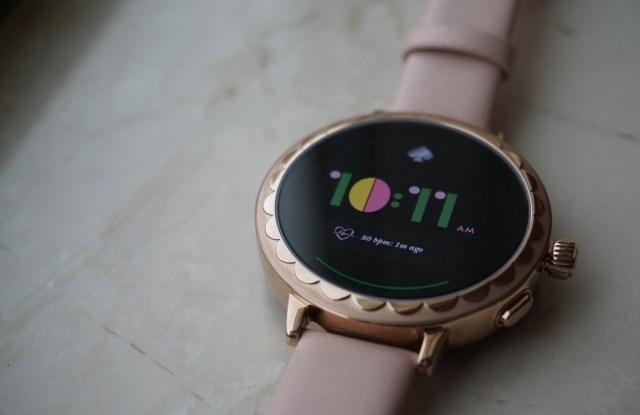 Kate Spade New York's Scallop Smartwatch 2.