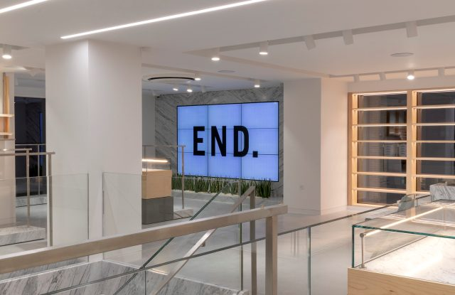 End. London store