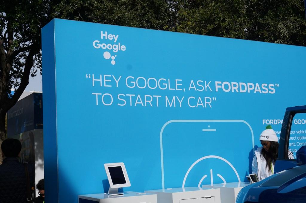 CES 2019 google assistant cars voice tech