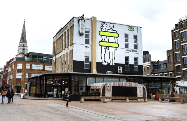 Gucci Chime for Change Mural in London