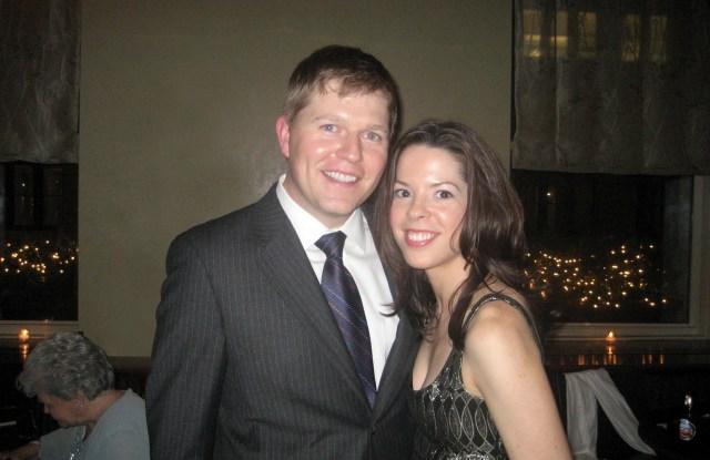Molly Prior Hermann with her husband, Jason Hermann.